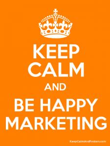marketing plan happy