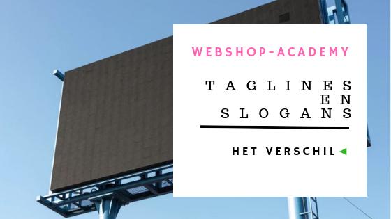 Taglines en slogans voor webshop