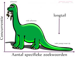 longtail zoekwoorden webwinkel