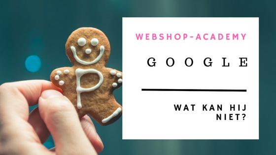 Wat Google je niet kan vertellen webshop-academy