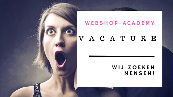 vacature webshop academy