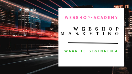 marketing webshop