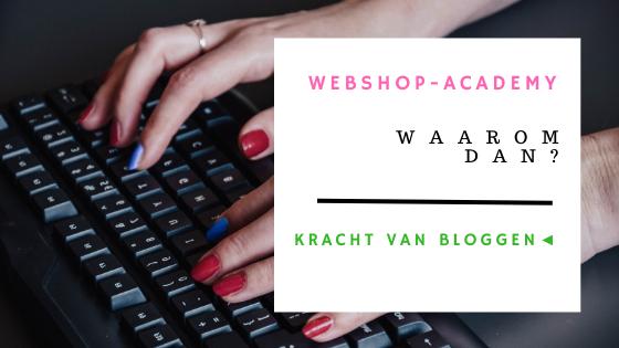 bloggen webshop