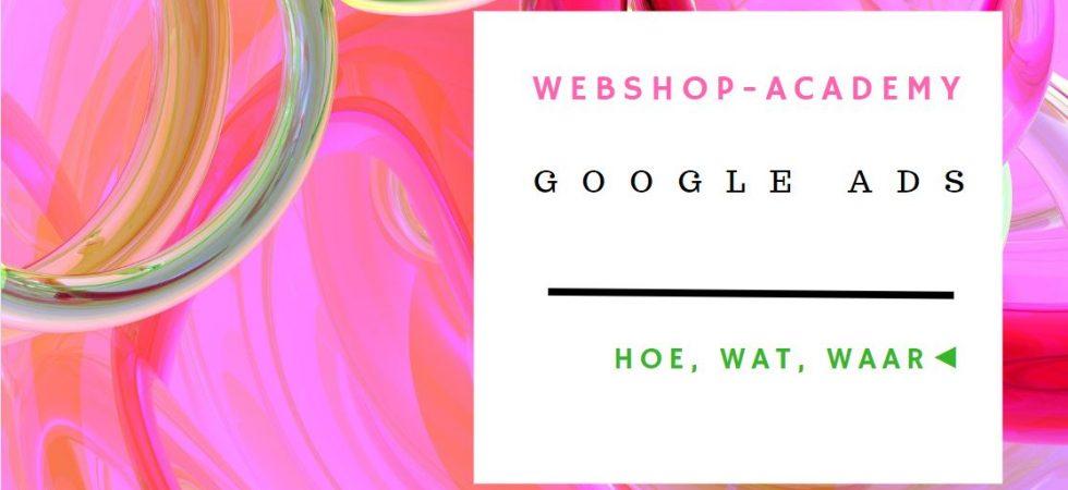 google ads webwinkel